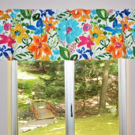floral valance covington okeefe